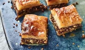 Nadiya Hussain's Chocolate and Orange Baklava | BBC Time to Eat