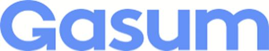 Logo: Gasum - Puhtaampaa energiaa
