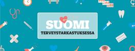 Logo: Suomi Terveystarkastuksessa 17.7.